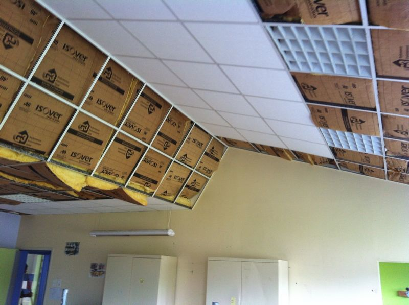 Isolation combles laine de verre calais 21 for Faux plafond suspendu decoratif